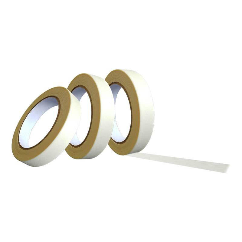 Kreppband 50m lang, Breite wählbar 19 mm