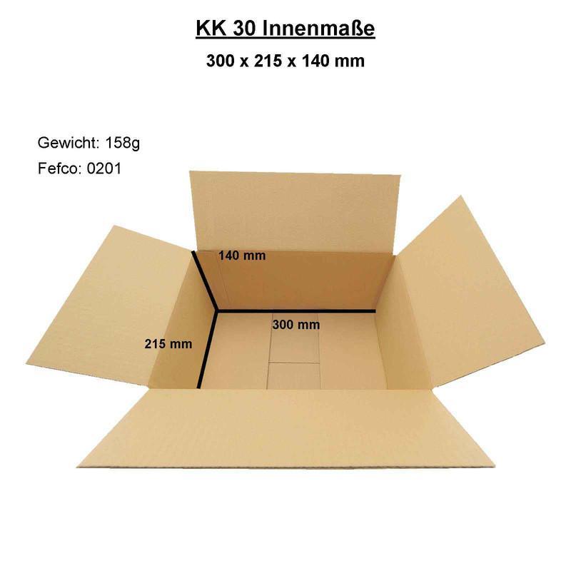 Faltkarton 300x215x140 mm
