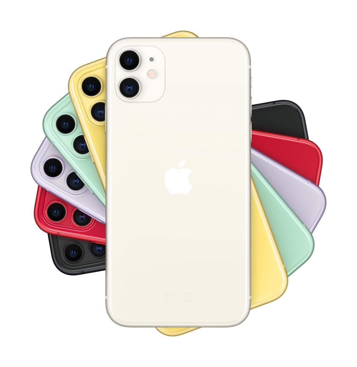 Apple iPhone 11 256 GB Weiß MWM82ZD/A
