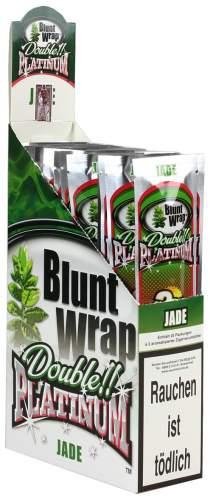 Blunt Wrap Double Platinum im 2er Pack, Jade (Juicy Watermelon) 25er Display