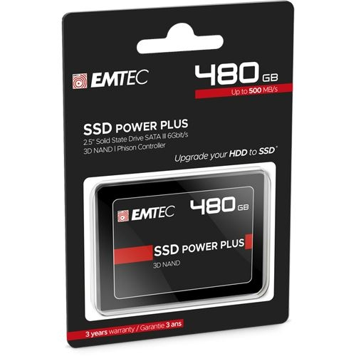 Emtec 480GB X150 SSD Power Plus ECSSD480GX150
