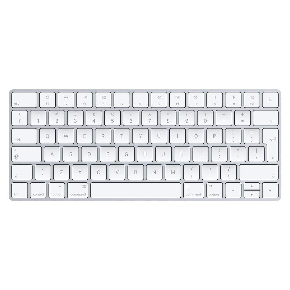 Apple Magic Keyboard, Tastatur silber, Englisch (International)