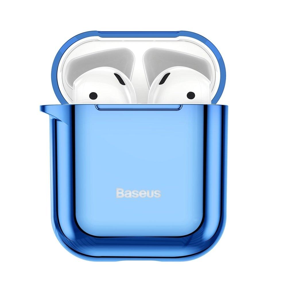 Baseus AirPods Silikon Schutztasche für Kopfhörer 2gen / 1gen blau