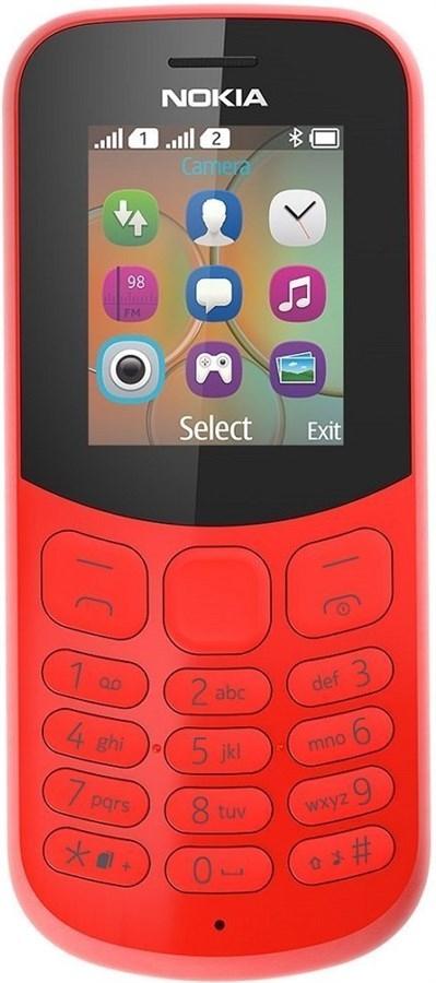 Nokia 130 (2017) - Dual SIM - rot