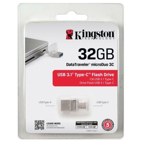 Kingston DataTraveler microDuo 3C - Auswahl: 32GB