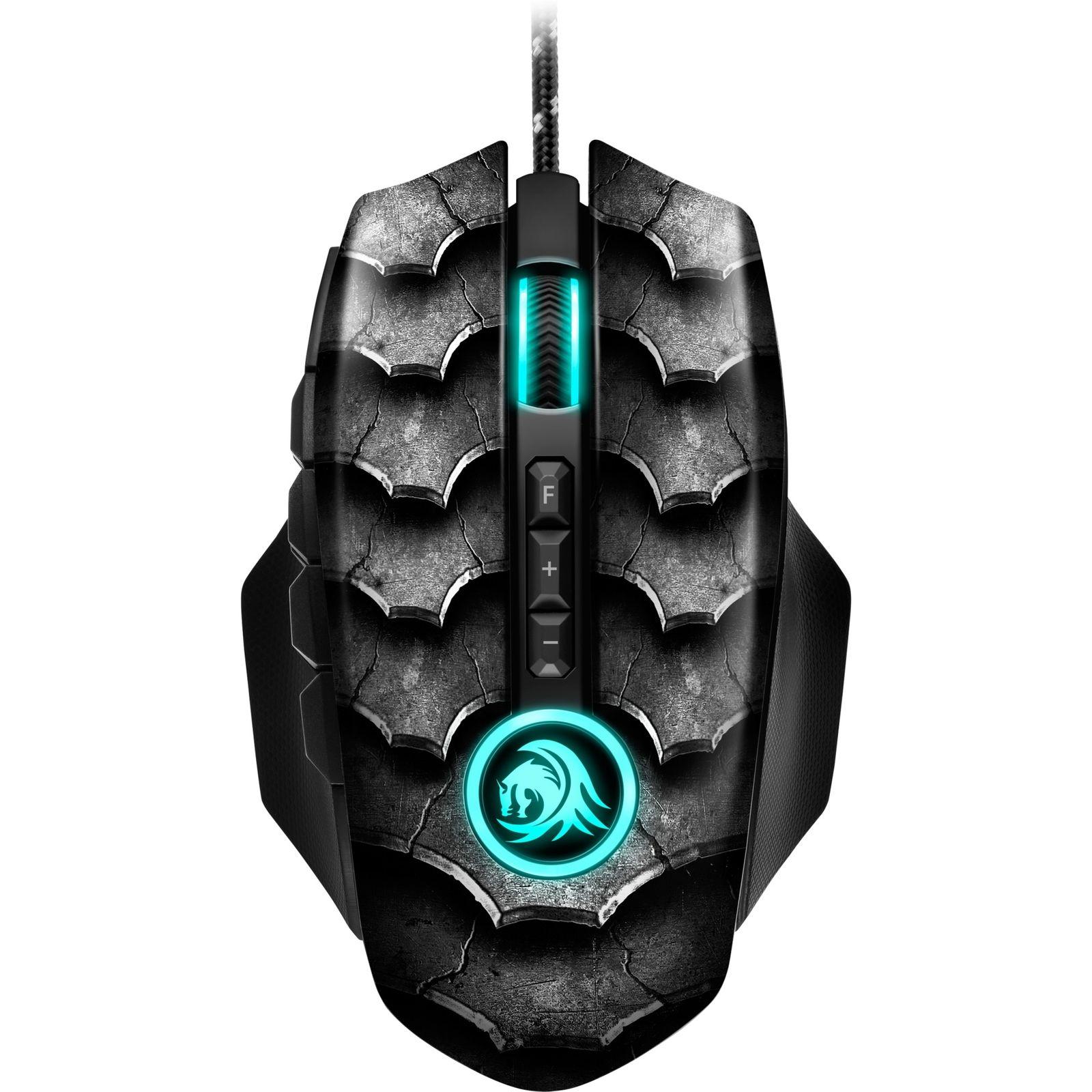 Drakonia II Black, Gaming-Maus