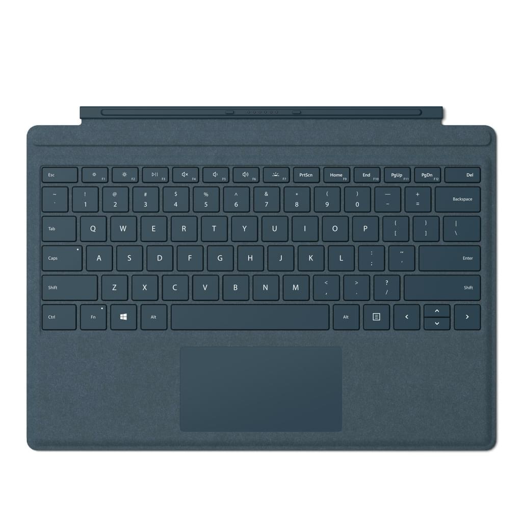 Surface Pro Signature Type Cover, Tastatur kobaltblau,  Commercial