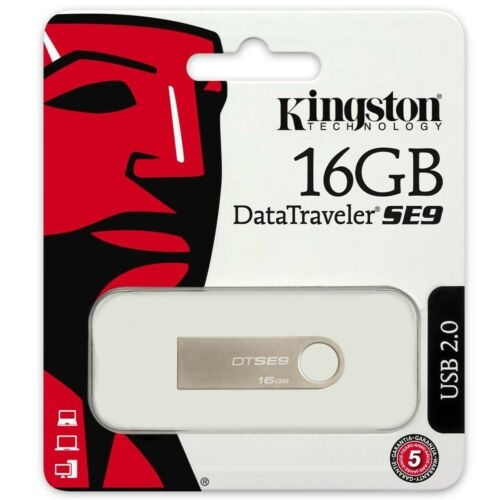 Kingston USB Stick 2.0 DataTraveler SE 16 GB Flash Drive Speicherstick Memory