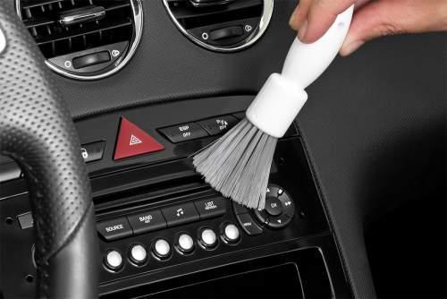 SAUBA Cockpit-Bürste PINO Reinigungsbürste für schwierige Stellen Perfekt für Lü