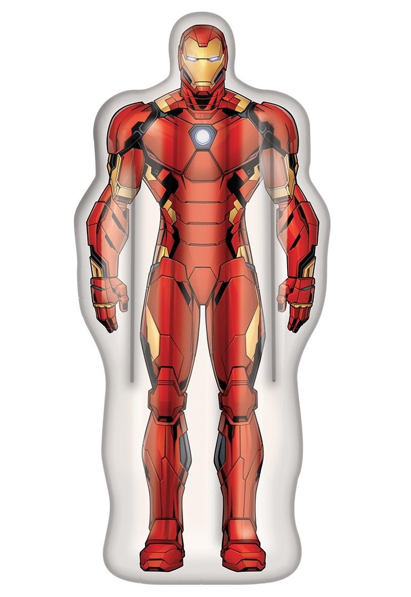 Aufblasbare Luftmatratze Matratze Schwimmliege Poolliege Stuhl Intex Bestway - Auswahl: Iron-Man 175 x 73 cm