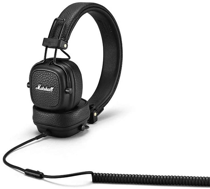 Marshall Major III Headset Faltbare Kopfhörer Schwarz Stereo Kopfbügelhörer