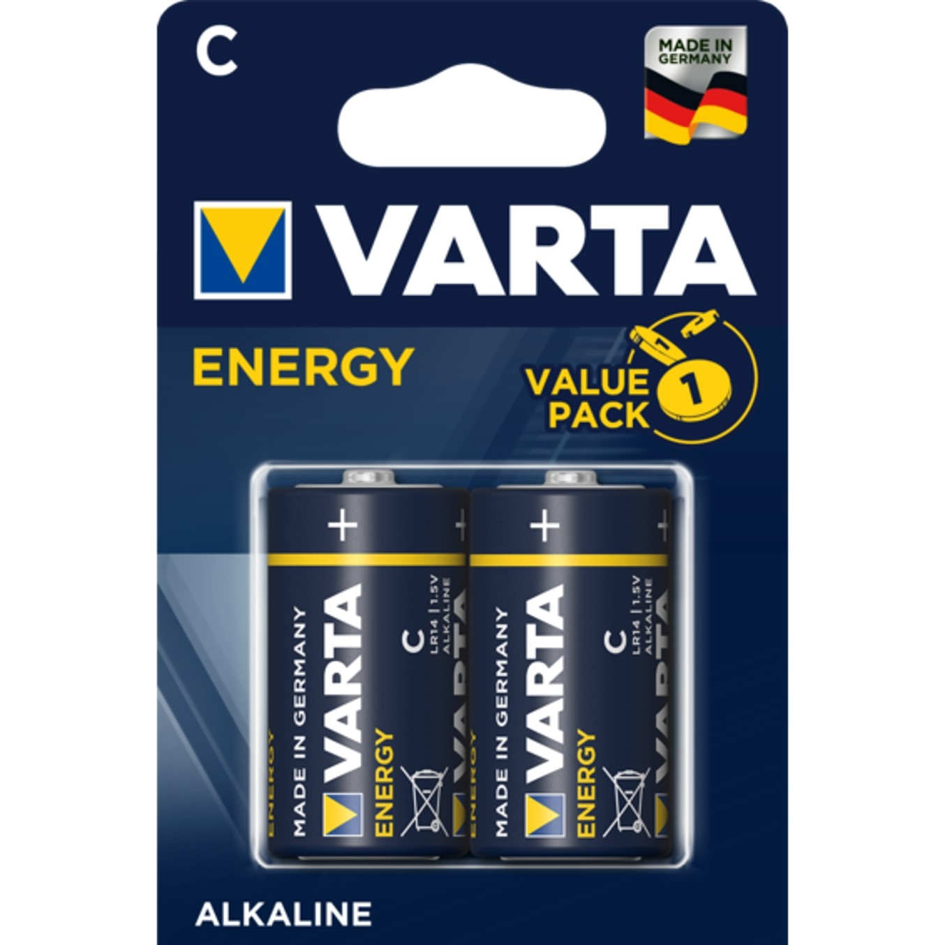 Varta Energy, Retail Blister (2-Pack)