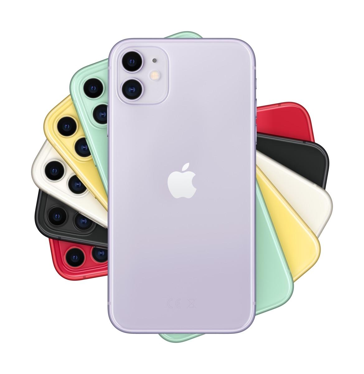 Apple iPhone 11 64 GB Violett MWLX2ZD/A