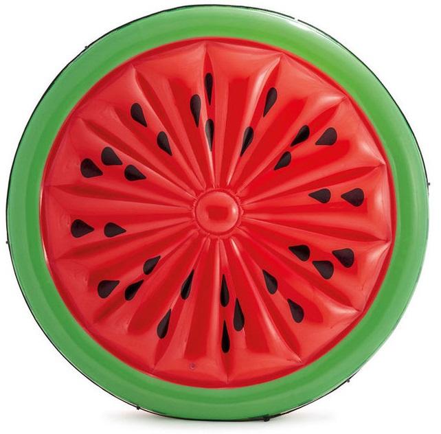 Aufblasbare Luftmatratze Matratze Schwimmliege Poolliege Stuhl Intex Bestway - Auswahl: Intex Wassermelone 183 cm