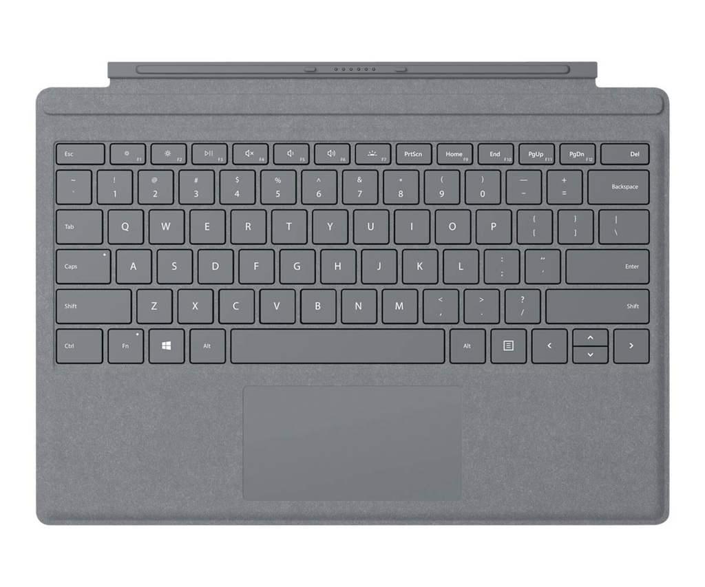 Surface Pro Signature Type Cover, Tastatur grau, Commercial