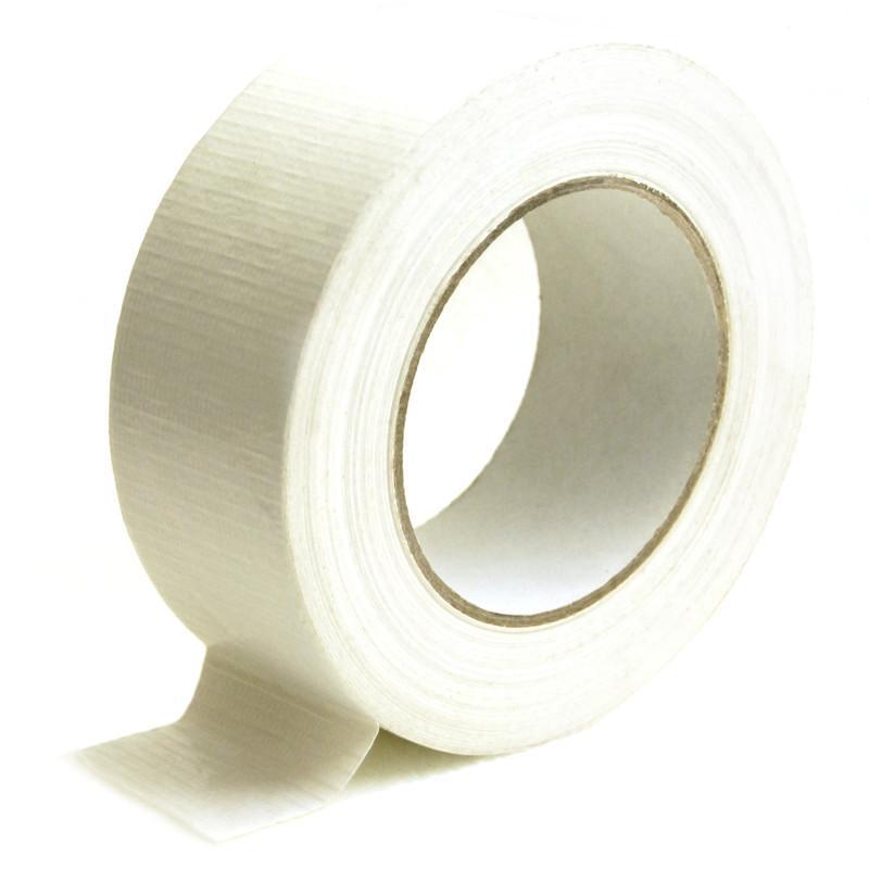Gewebeband, 48,5mm x 50m Weiß