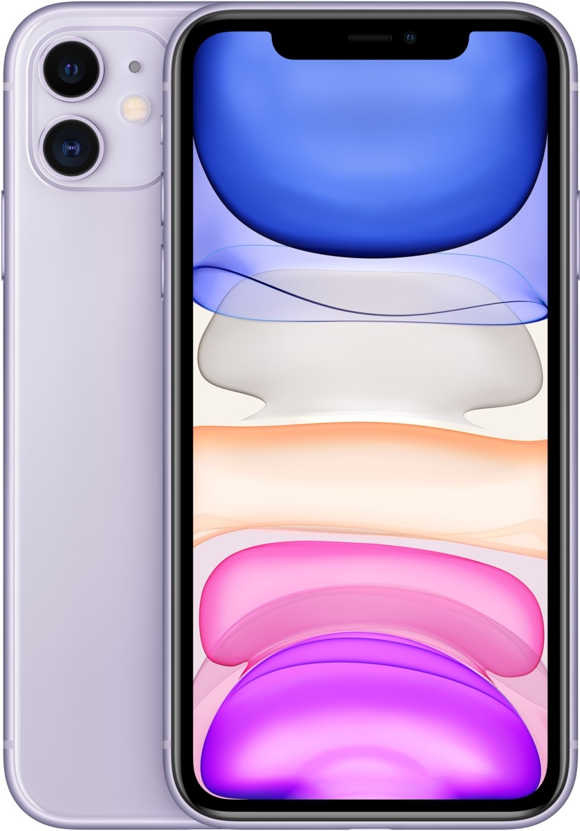Apple iPhone 11 128 GB Violett MWM52ZD/A