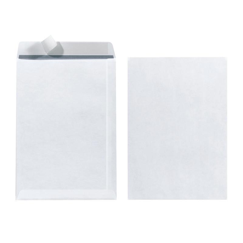 Herlitz Versandtasche C5 90g haftklebend 10 Stück Weiß