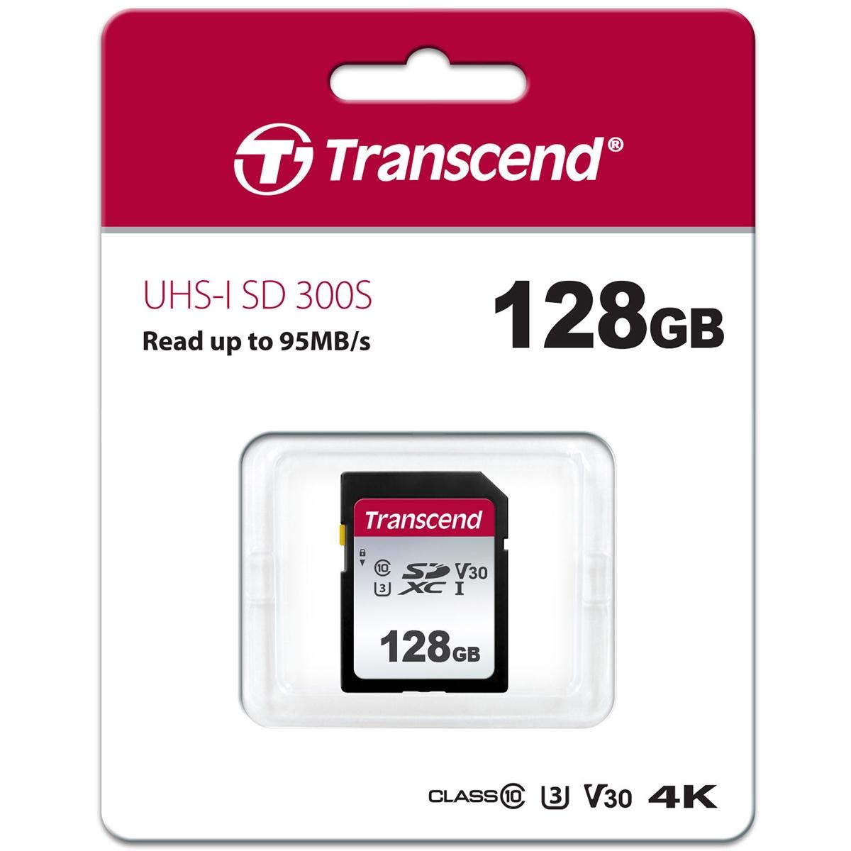 300S 128 GB SDXC, Speicherkarte