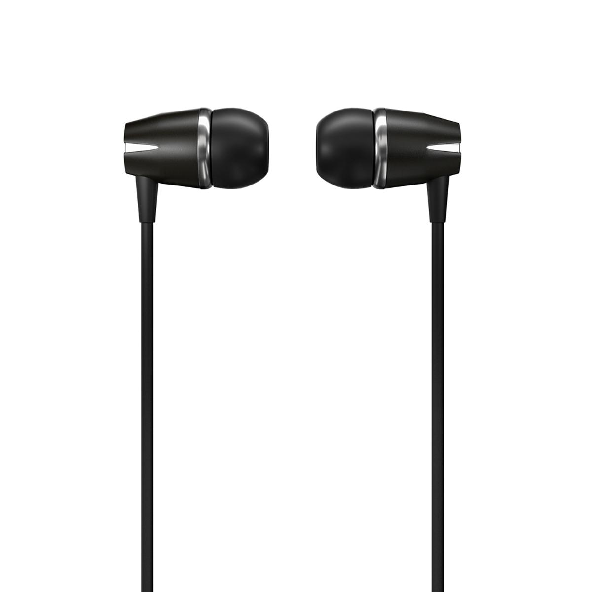 WK Design Y6 Kopfhörer 3,5 mm Mini-Jack -Headset mit WK Design Y6 Kopfhörer 3,5 mm Mini-Jack -Headset mit Fernbedienung schwarzweiss