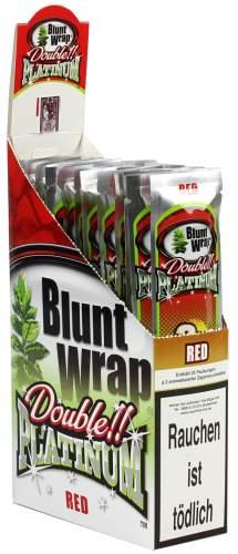 Blunt Wrap Double Platinum im 2er Pack, Red (Strawberry Kiwi)