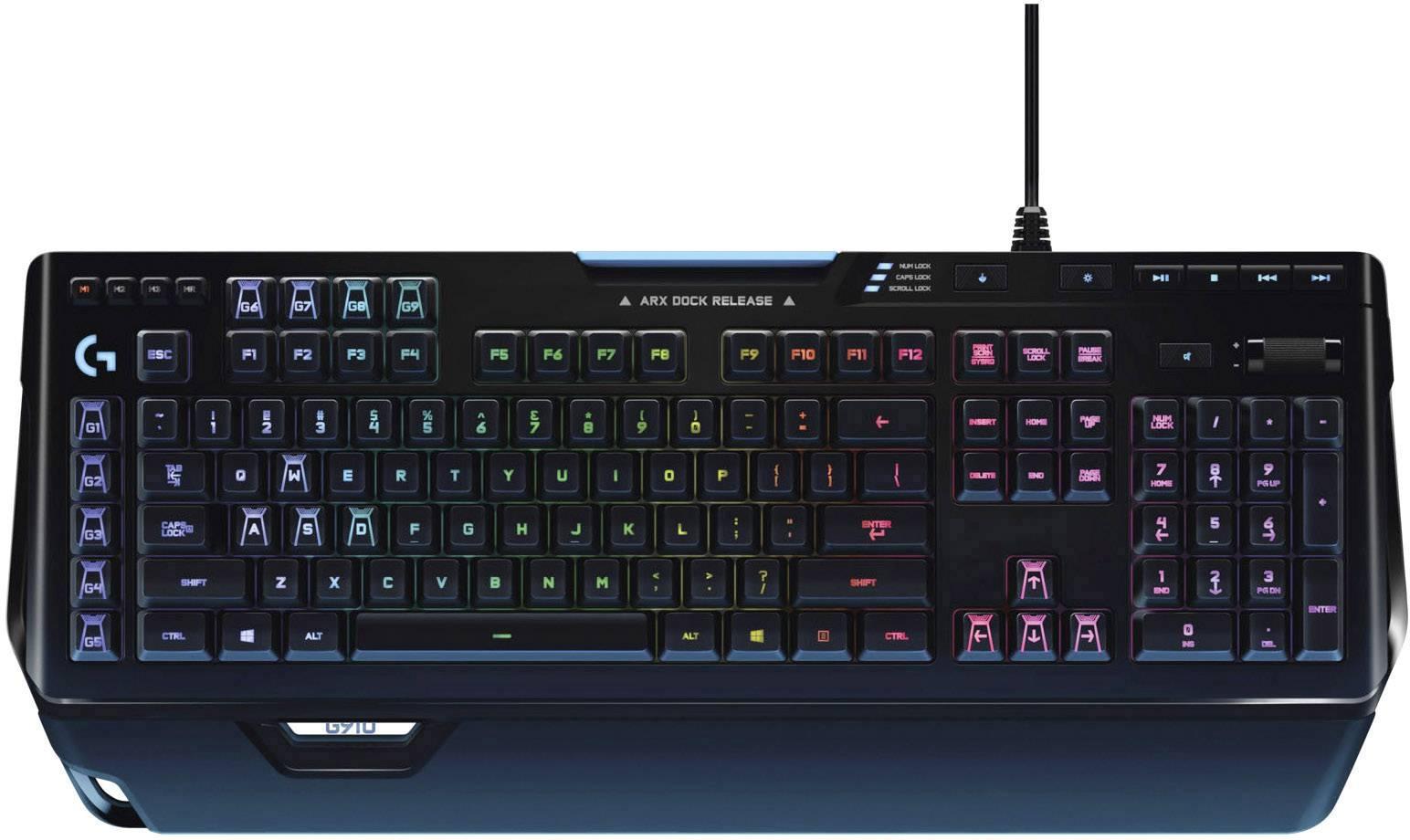 CHERRY Tastatur - Modell: Cherry G910 Orion Spectrum Gaming-Tastatur Schwarz
