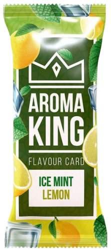 AROMA KING MINT LEMON Flavouring Cartridge Aroma Card
