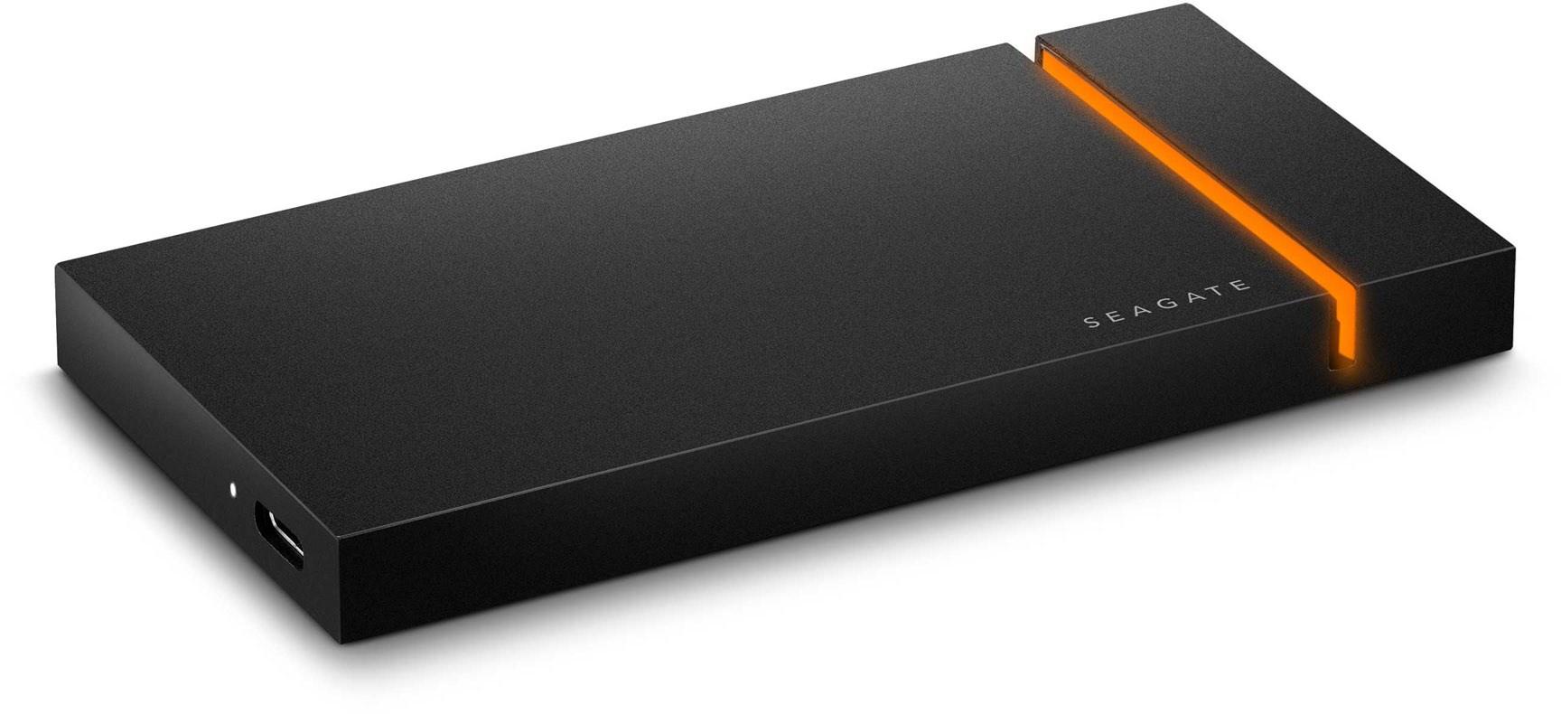 Seagate Firecuda Gaming SSD 1 TB Externe SSD schwarz