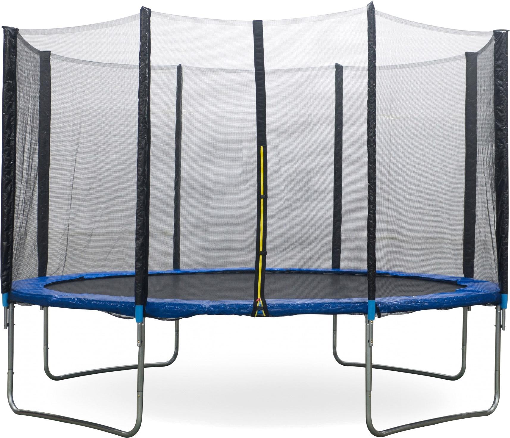 AMIGO trampolin mit Sicherheitsnetz 427 cm blau