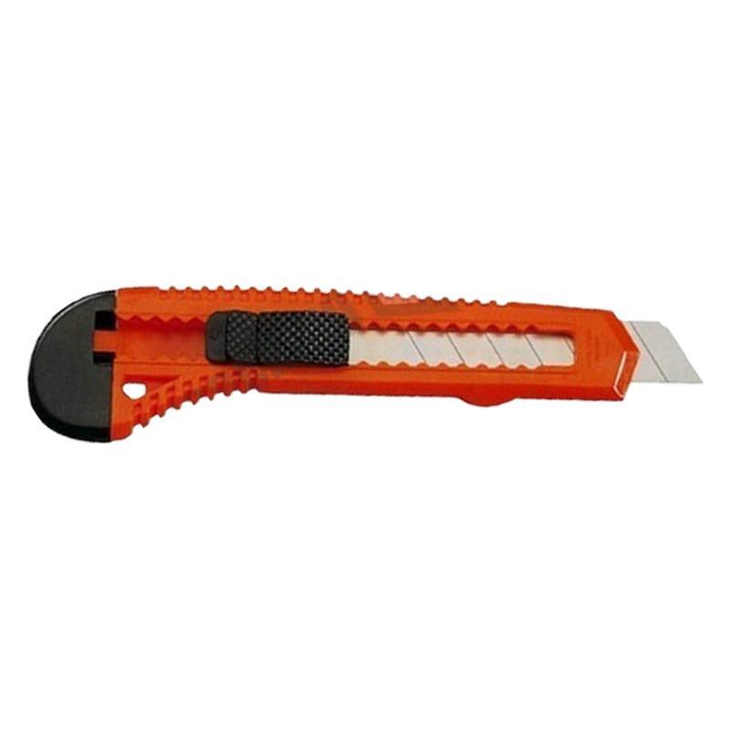 Cuttermesser und Ersatzklingen Rot Kunststoff 18 mm Ohne Zusatzklingen