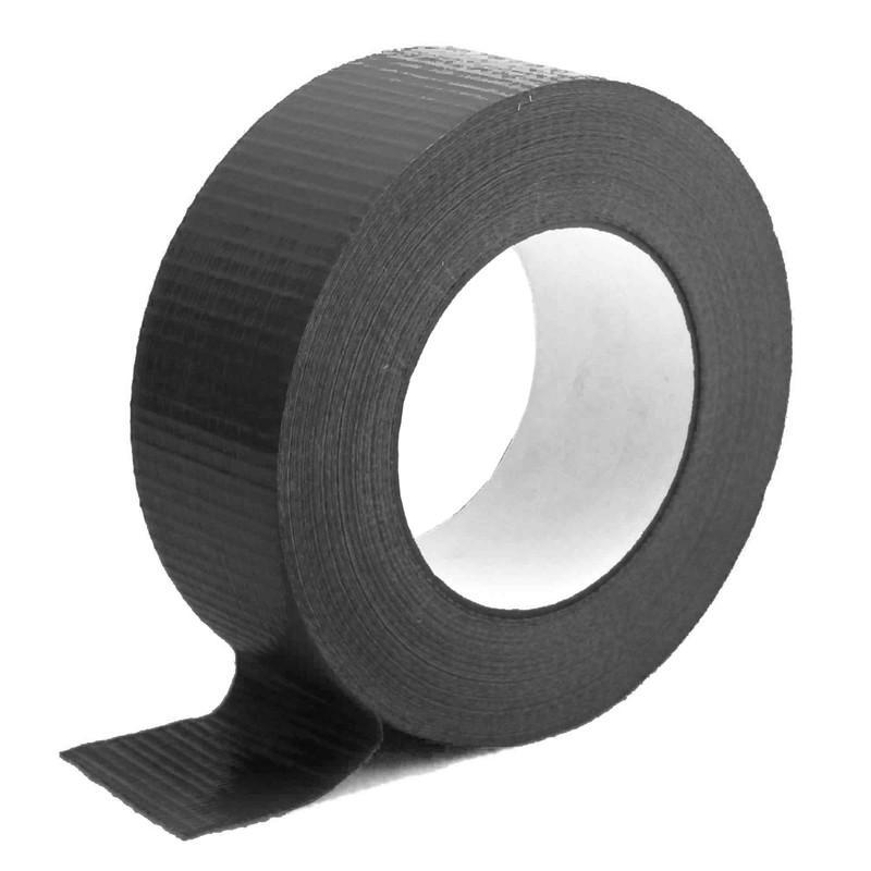 Gewebeband, 48,5mm x 50m Schwarz