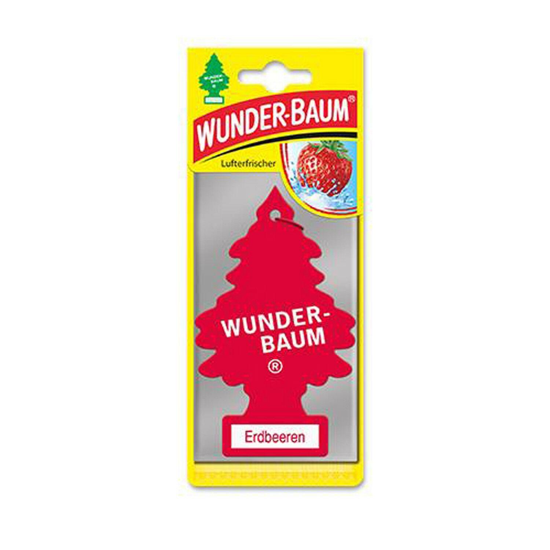 Wunderbaum Lufterfrischer Baum - Duft: Erdbeere