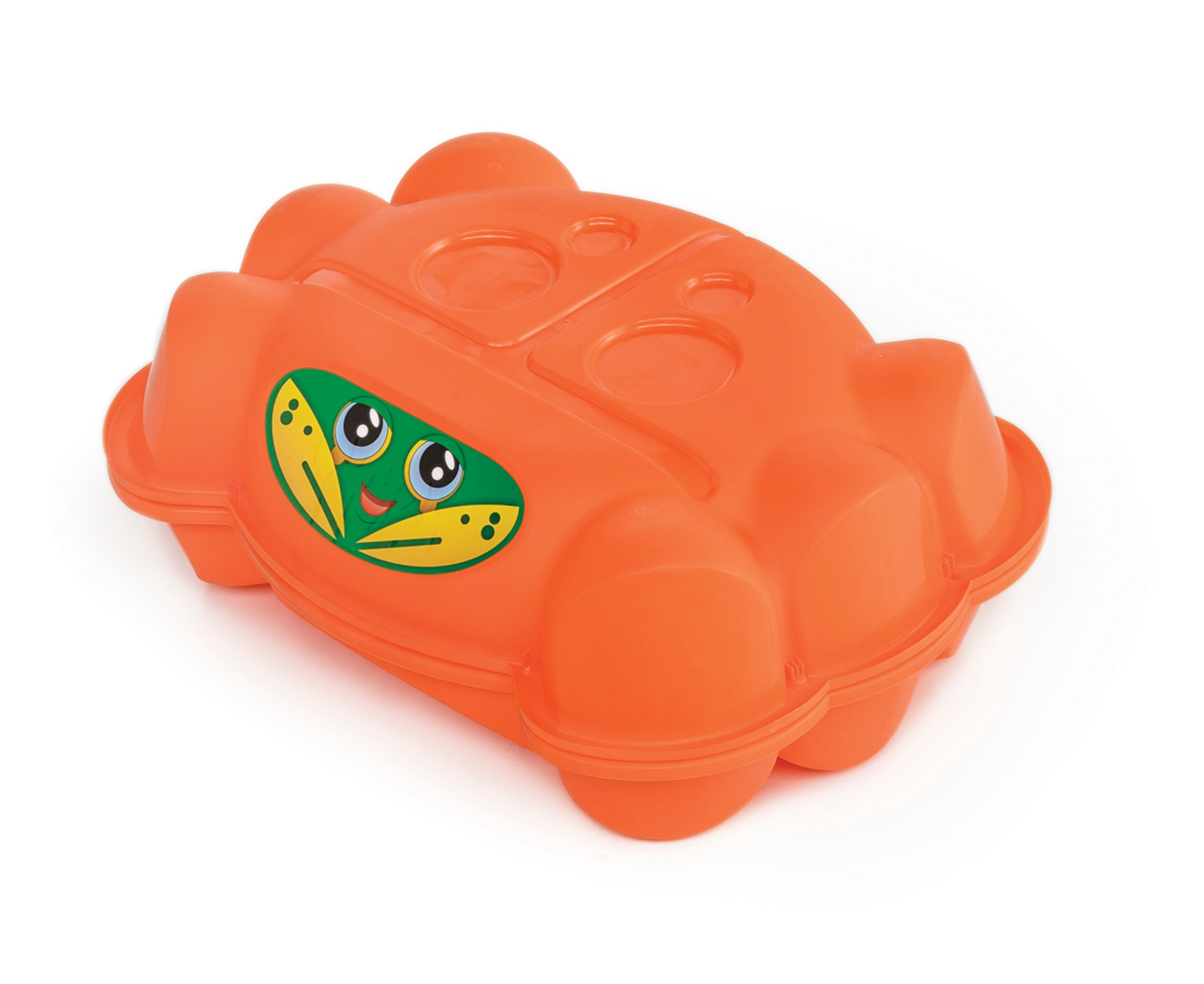 Paradiso Toys sandkastenkatze 96 x 68 cm orange 2-teilig