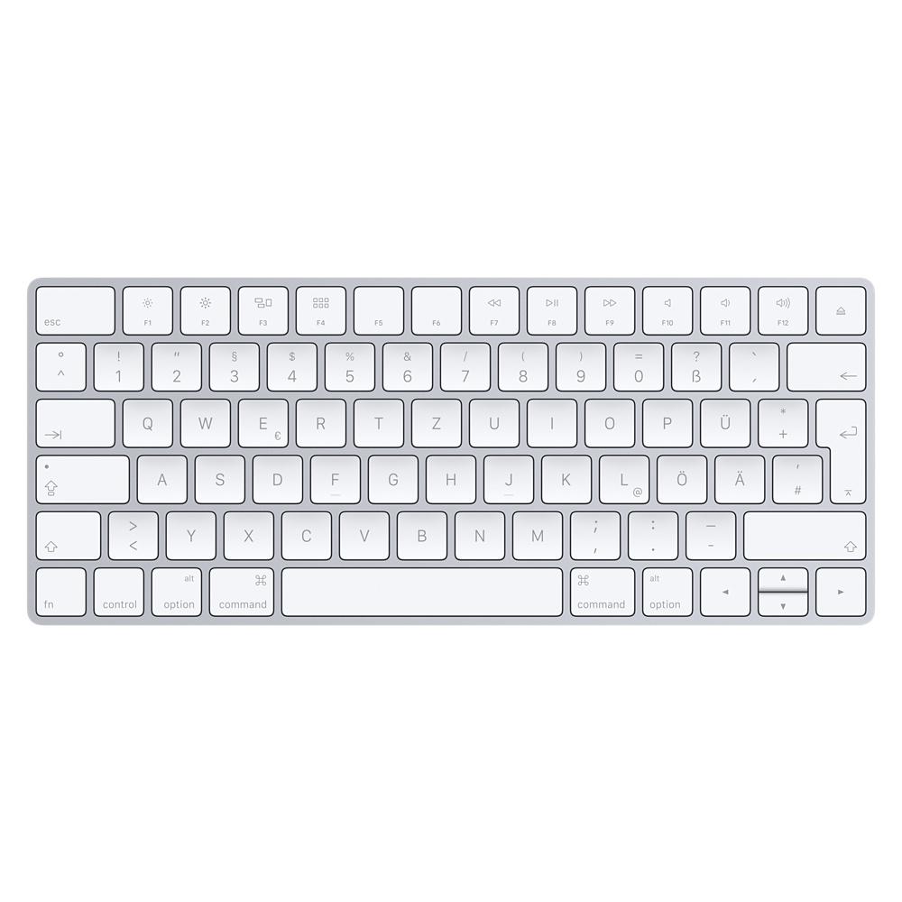 Apple Magic Keyboard, Tastatur silber