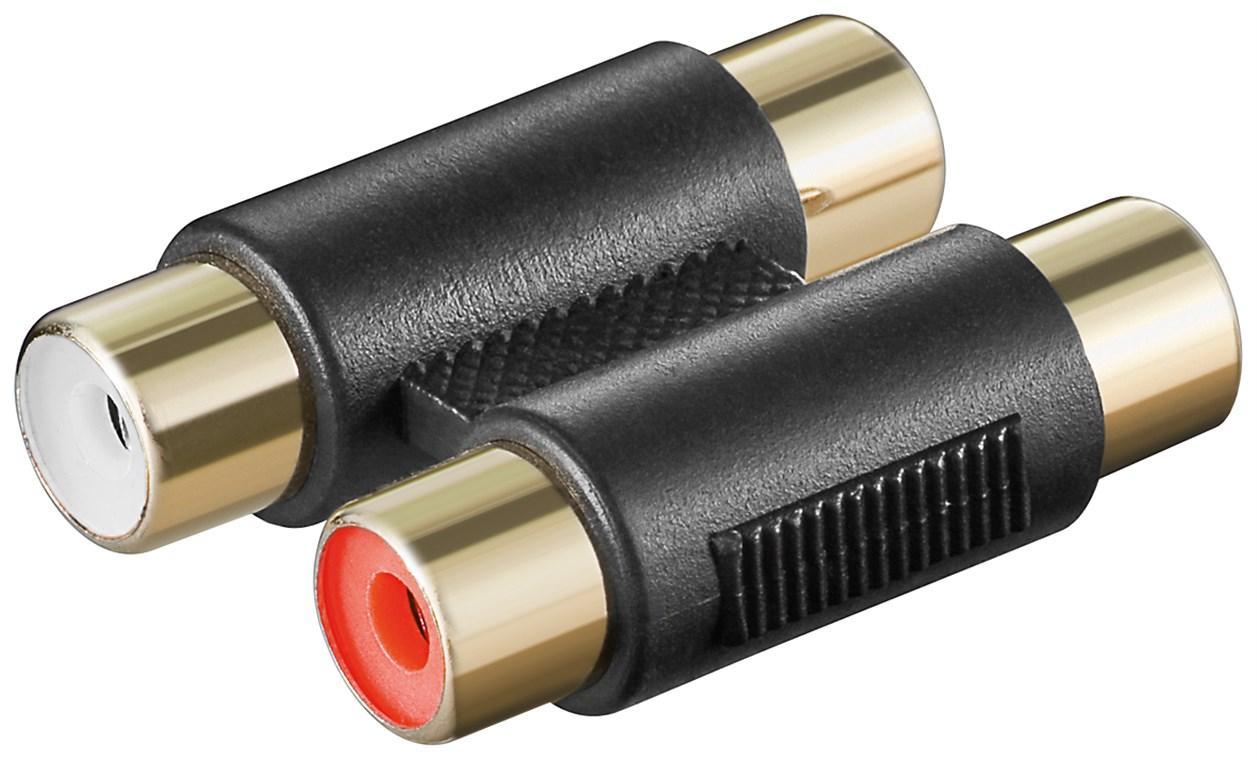 Adapter Cinch 2xKupplung2xKupplung