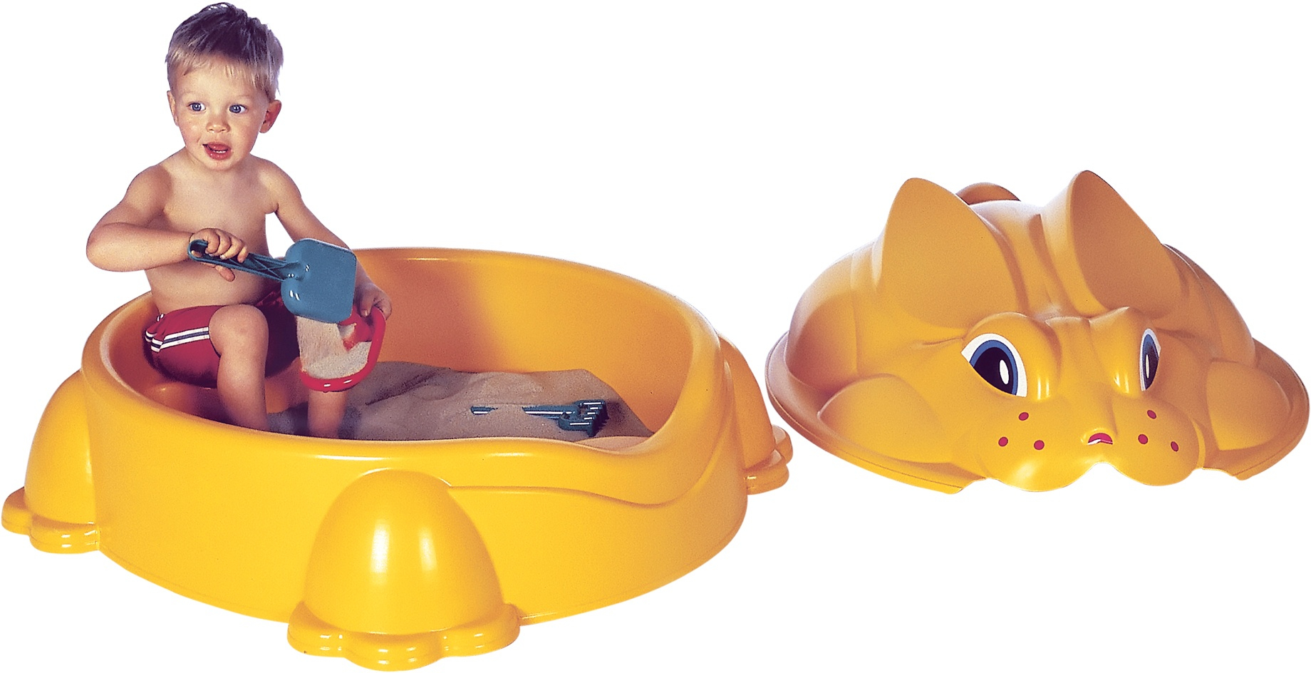 Paradiso Toys sandkasten konijn84 x 92 cm gelb