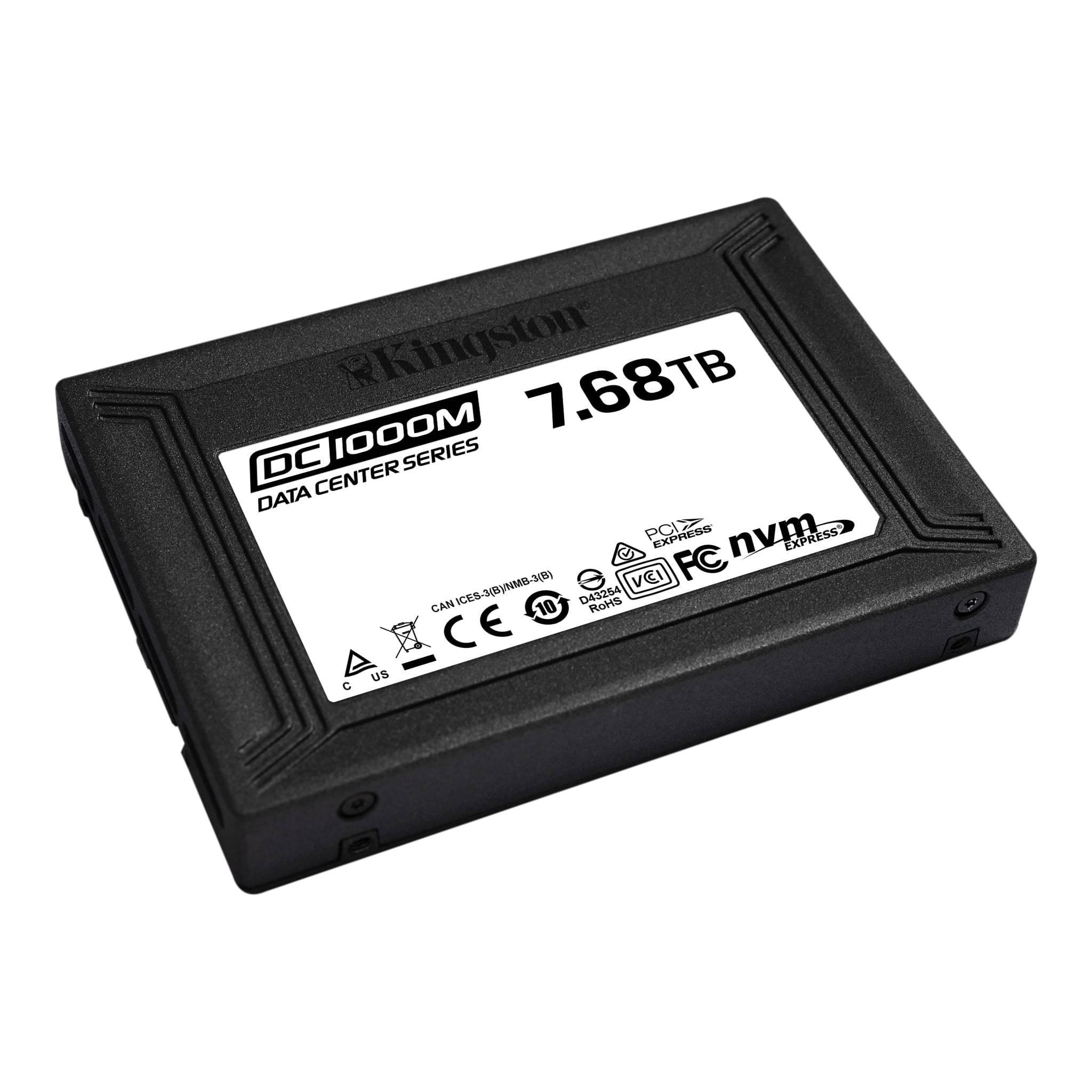 Kingston DC1000M 7.68 TB SSD PCIe NVMe 3.0 x4 U.2