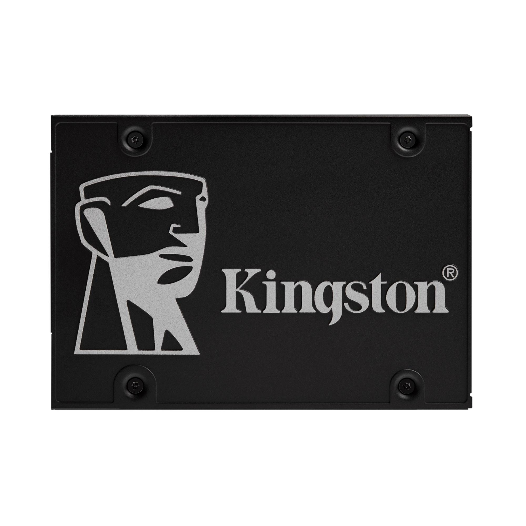 "Kingston KC600B 256 GB SSD schwarz SATA 6Gb/s 2,5"" BULK"