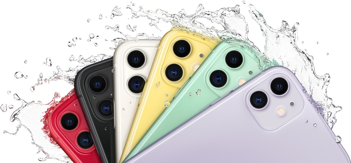 Apple iPhone 11 256 GB Violett MWMC2ZD/A