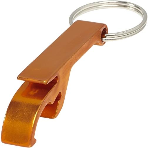 Toa Schlüsselanhänger mit Flaschen- und Dosenöffner orangen