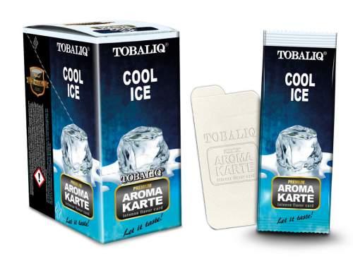 COOL ICE Aroma Cards/Aroma Karte Tobaliq im 25er T-Box