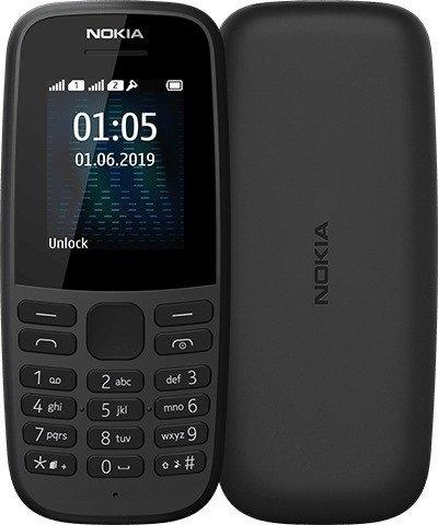 Nokia 105 (2019) Dual-SIM schwarz