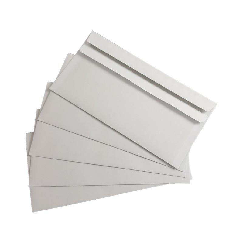 100 Briefumschläge ohne Fenster