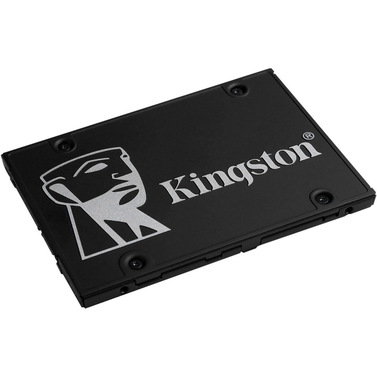 """Kingston KC600B 1 TB SSD schwarz SATA 6Gb/s, 2,5"""" BULK"""