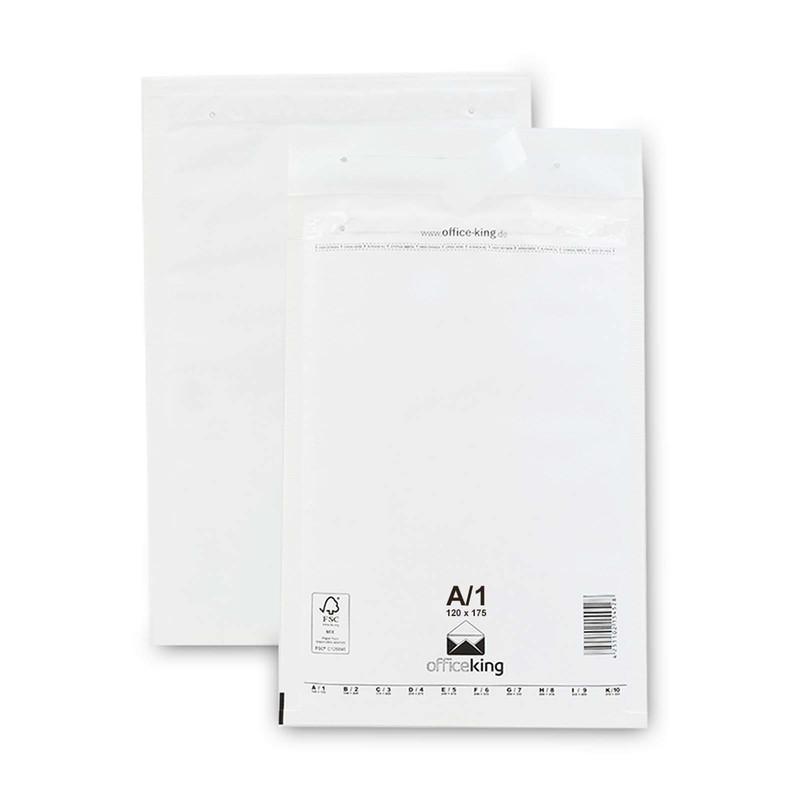 200 A1 Luftpolstertaschen Weiss 120 x 175 mm