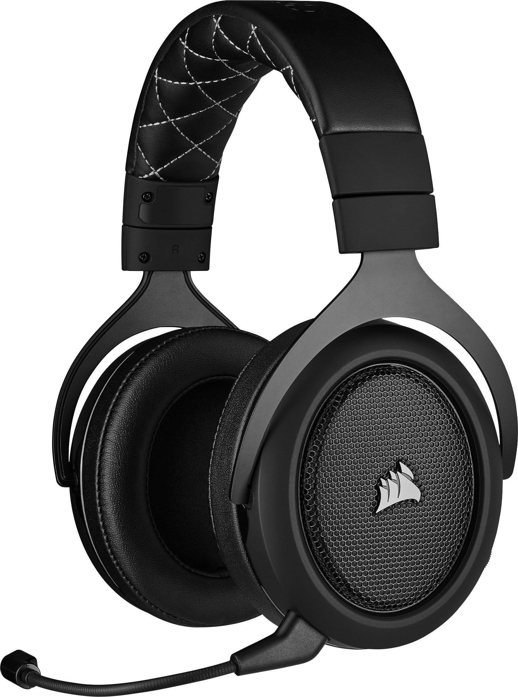 Corsair HS70 Pro Wireless Gaming Headset Schwarz Over Ear Gaming Headset