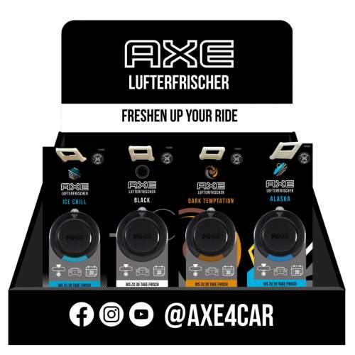 AXE 3D Air Freshener/Lufterfrischer 48er T-Dsp.