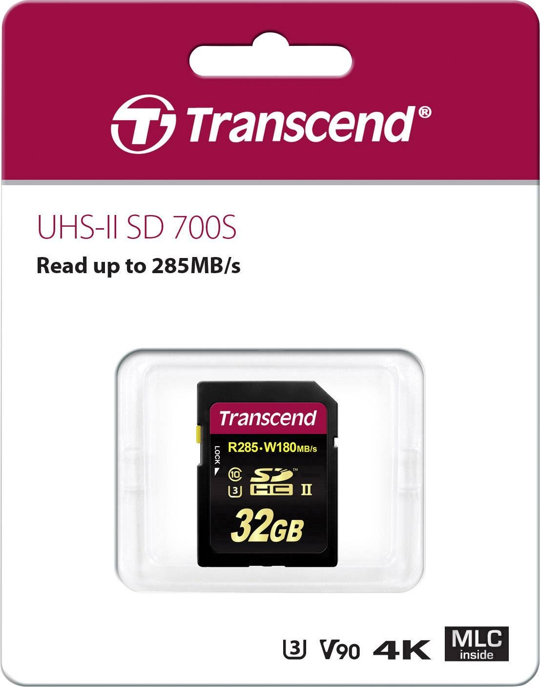 700S 32 GB, Speicherkarte