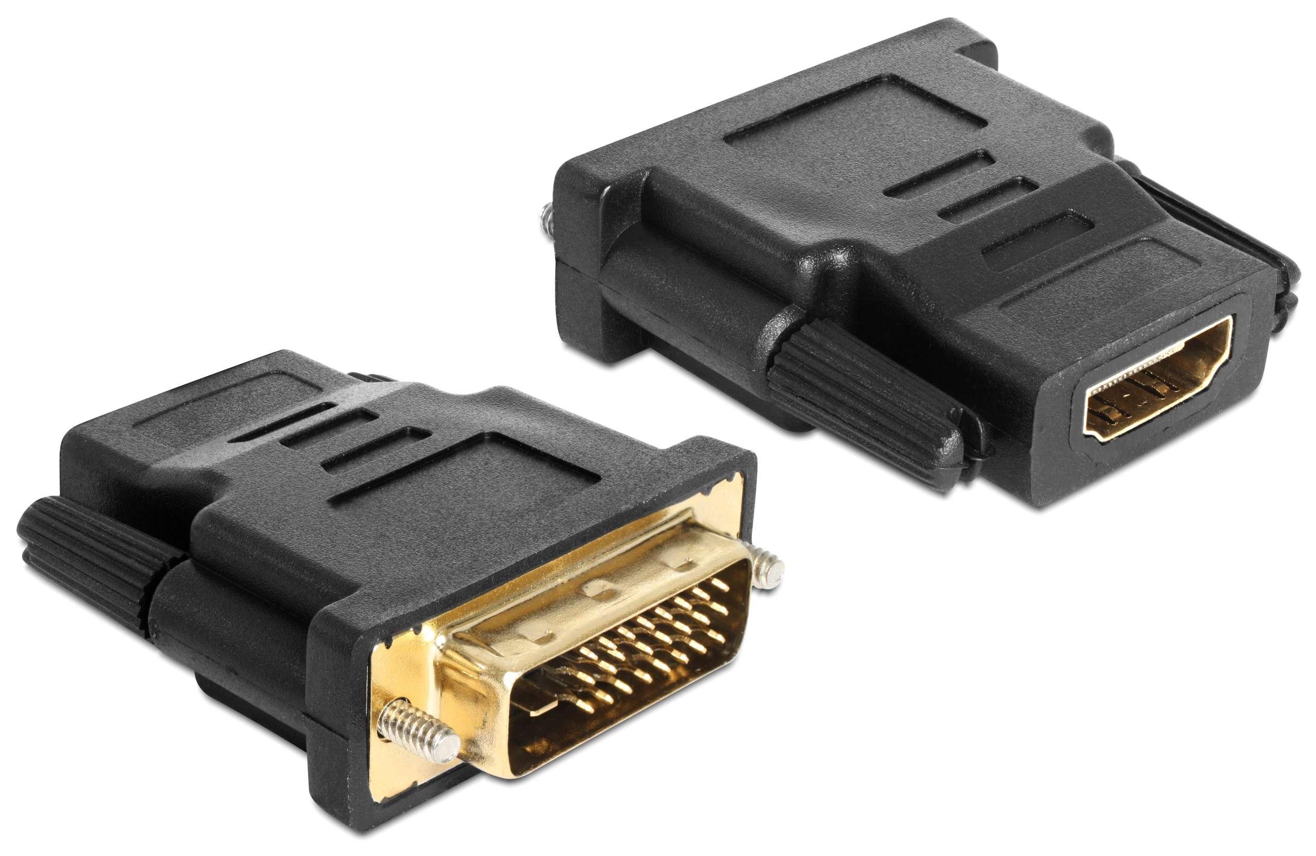 Adapter DVI 24+1 Stecker > HDMI Buchse