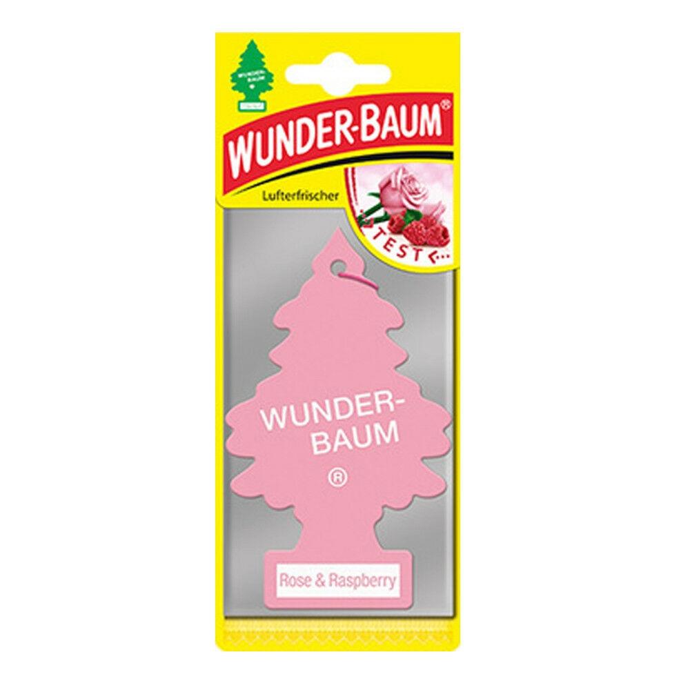 Wunderbaum Lufterfrischer Baum - Duft: Rose & Raspberry